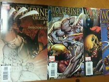 WOLVERINE : ORIGINS #1 Directors 2 4 6 7 8 NM- Nuke 1 Turner 2006 Marvel Comics