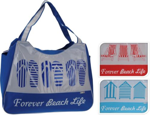 Beach Bag Womens Ladies Extra Large Holiday Summer Shopper Tote Canvas Bags