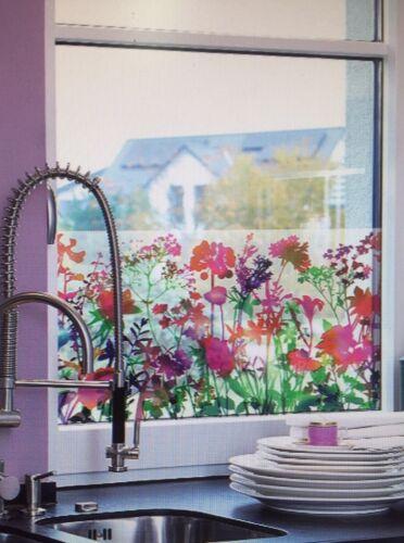 D-c-fix premium miraflores floral statique s/'accrochent film de fenêtre 45cm x 1.5m 334-0035