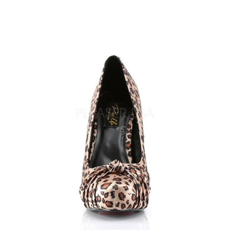 PIN UP COUTURE SAFARI-06 Hidden Plateau Pump Animalprint Leolook Poledance Poledance Poledance Party c7999d