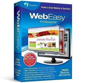 Image Is Loading Avanquest Web Easy Professional 10 Design Websites HTML