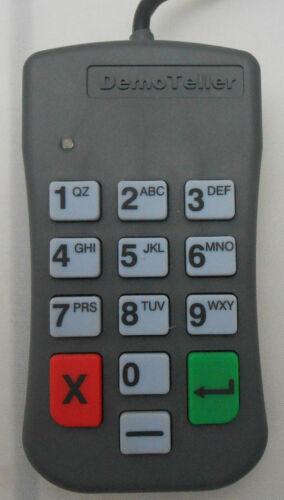 DEMO TELLER  CREDIT CARD  MACHINE PINPAD