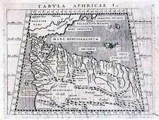 Antiguo Mapa, Tabula aphricae me