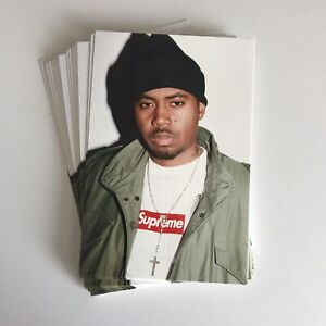Supreme-Nas-Photo-Sticker-100-AUTHENTIC-SUPREME-STICKER-BOX-LOGO