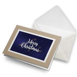 Greetings-Card-Biege-Dark-Blue-Merry-Christmas-Festive-21863