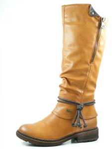 Details zu Rieker 94758 24 Schuhe Damen Stiefel Warmfutter Rieker Tex