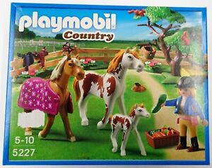 PLAYMOBIL-5227-Pferdekoppel-Country-NEU-NEW-OVP