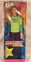Mattel concert Date Ken Doll 53962 2001 Barbie In Unopened Box