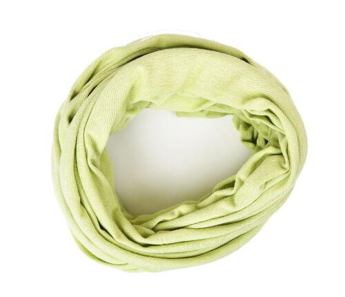 per ragazzi e ragazze Bambini-loop Tinta Unita Verde smeraldo KIDS tubo scialle