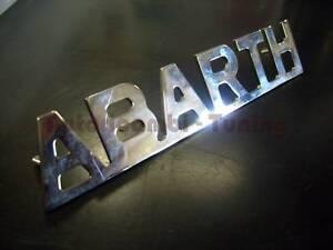 SCRITTA-ABARTH-METALLO-CROMATO-FIAT-500-AUTO-EPOCA-a036-110x21mm