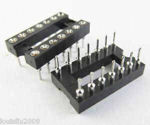 5-pcs-IC-Socket-Adapter-14-Pin-Round-DIP-High-Quality