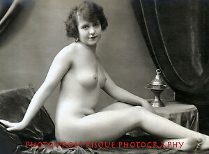 What vintage nude women photography think