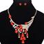 Fashion-Elegant-Women-Rhinestone-Crystal-Choker-Bib-Statement-Pendant-Necklace thumbnail 54