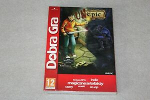 Unepic PC DVD NEW SEALED  + STEAM