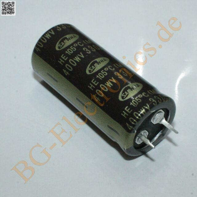 10V 6 x  Kondensator 2200uF Elko NEU 85°