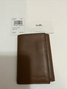 Coach-Men-s-Wallet-TRIFOLD-WLT-SPRTCLF-F23845-Saddle-SAD