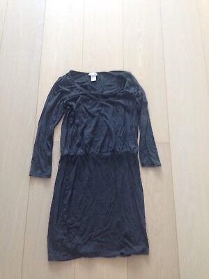 H&m Mama Still Kleid In Dunkelgrau Gr. Xs SchnäPpchenverkauf Zum Jahresende