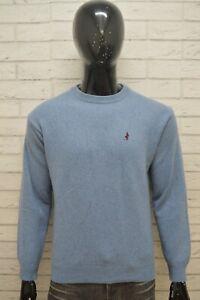MARLBORO-CLASSICS-Uomo-Taglia-L-Maglione-Lana-Pullover-Cardigan-Sweater-Man