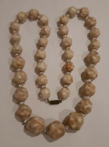 vintage-Art-Deco-Unusual-Celluloid-Carved-Bead-Necklace