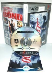 JAMES-BOND-007-EVERYTHING-OR-NOTHING-Playstation-2-Ps2-Play-Station-Gioco-Game