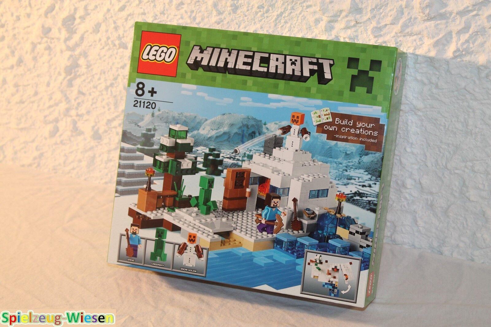 LEGO® Minecraft™ 21120 Das Versteck im Schnee - NEU & OVP -