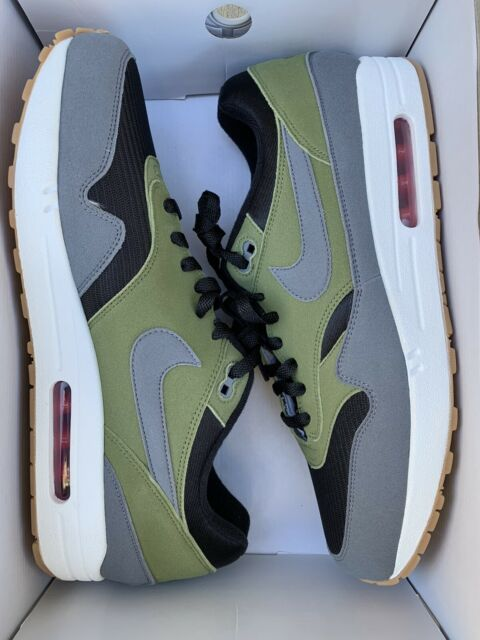 Nike Air Max 1 for You ID White Grey Mens Size 13 Cn9671 991