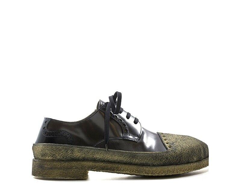 shoes ROCCO P. men Stringate  brown Pelle naturale 3531PP-05