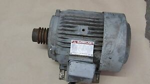 Image Is Loading Mitsubishi Electric Superline Three Phase Induction Motor Sf