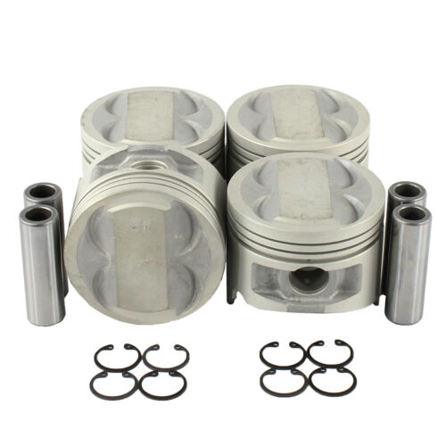 DNJ Engine Components Piston Set Oversize 20 .5mm P927.20