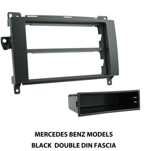 C2 CT24MB06 Voiture Radio CD Stereo fascia panel Adaptateur Noir Pour Mercedes