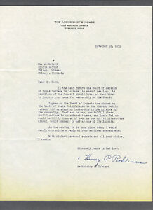 Henry-Rohlman-signed-1951-letter-to-Arch-Ward