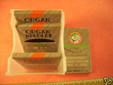 50 ORGAN Sewing Machine Needles SINGER TREADLE 27,28,127,128 series 600,700 #16