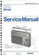Philips Original Service Manual für 90 AL 510