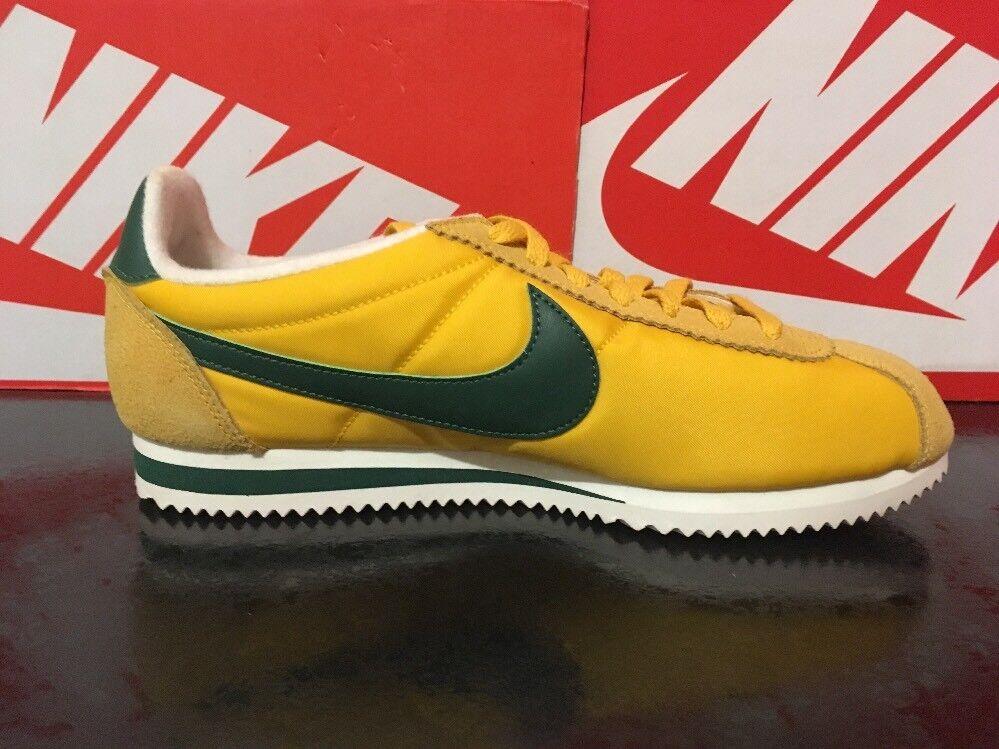 Nike Classic Cortez Nylon Premium 8 9 10 10.5 'Oregon' Maze Maze 'Oregon' vert 876873-700 af1ed5