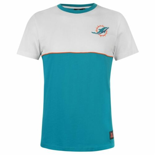 NFL Miami Dolphins T Shirt Mens ALL SIZES Official NFL Team Apparel Jersey