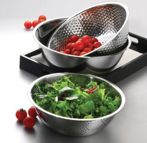 NEW 3 Pcs Stainless Steel Mixing Bowls Set /& Unharmful Storage Kitchen Tool.