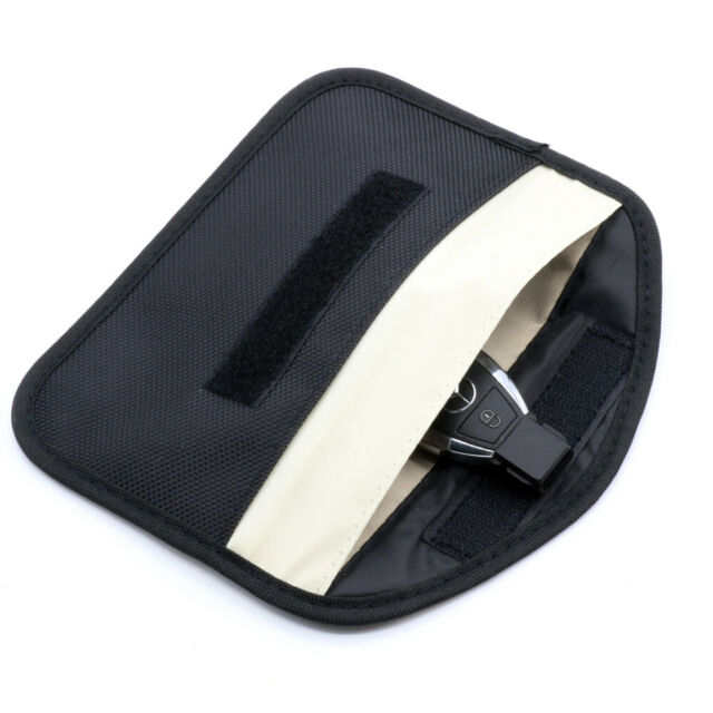 Large Genuine Car Key Keyless Entry Fob Signal Blocker Faraday Bag UK FAST