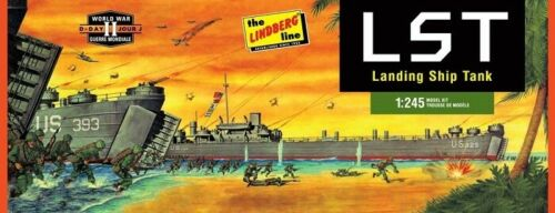 Lindberg 1:245 Landing Ship Tank Plastic Model Kit HL213 LND213