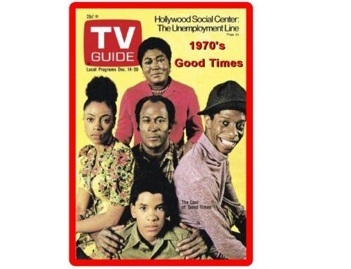 Tool  Box  Magnet TV Show 1970/'s Good Times Cast  Refrigerator