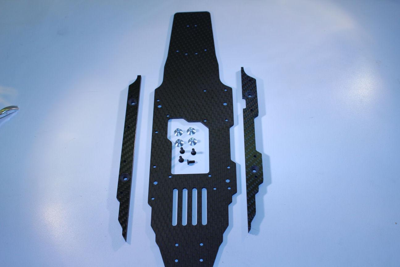 HD autobonio Tuning Telaio per RB-7  Deagostini, 2,6 mm + Seitenversteidivertimentog  ordina ora i prezzi più bassi