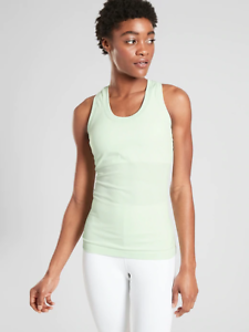 ATHLETA~Rare~Pura Organic Cotton Tank 7 Colors XS,S,M,L,XL New Retail $39