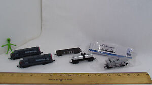 High Speed Southern Pacific N Gauge Dummy and Cars #418(x2) #422 #419 #423