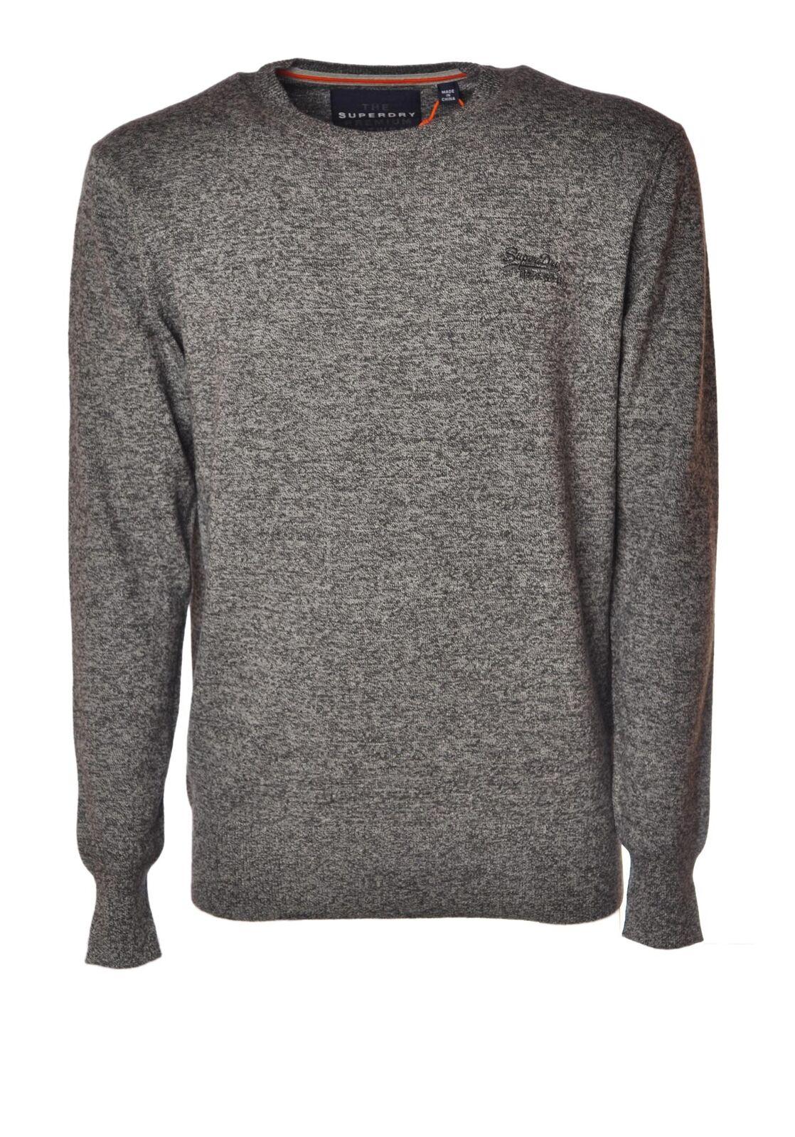 Superdry  -  Sweaters - Male - Grau - 4338201B181856