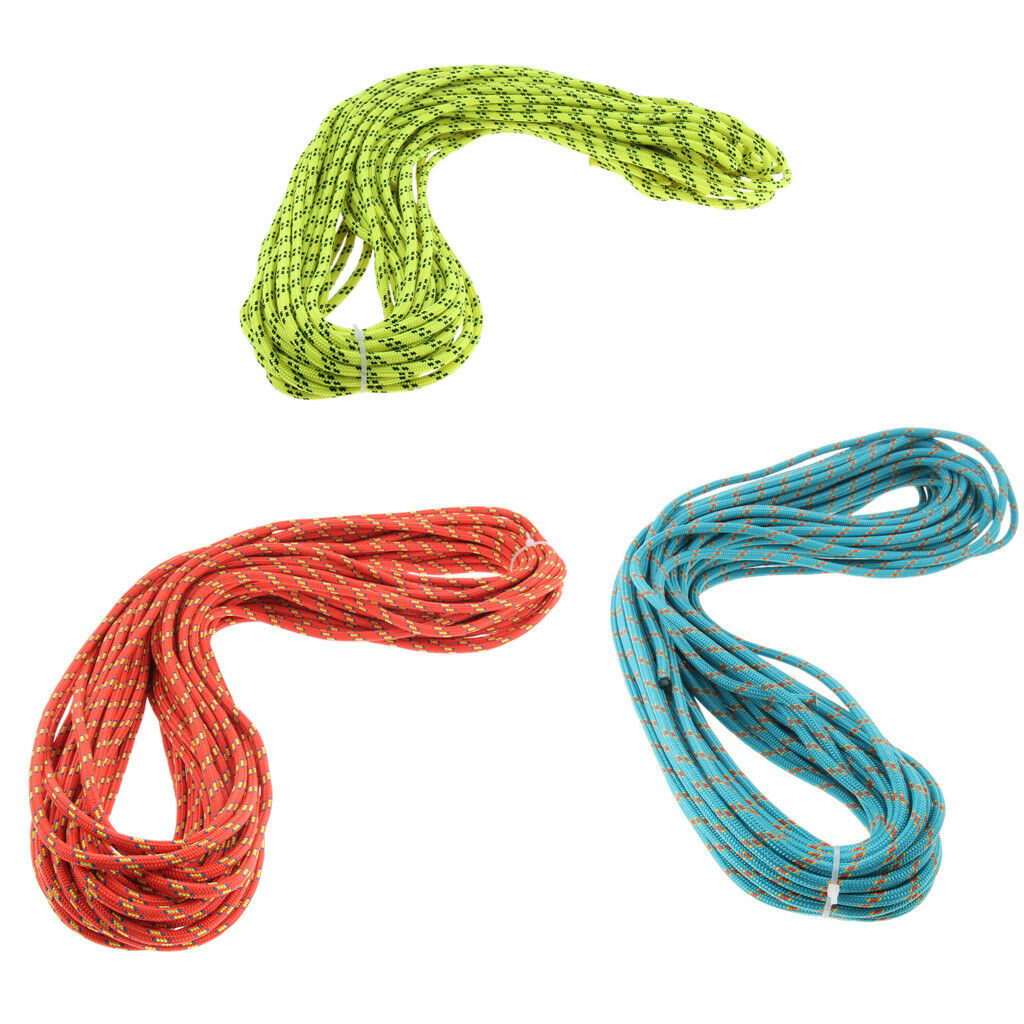 6.5KN 30m Outdoor Activity Sport Climbing Mountaining Rescue Auxiliary Rope