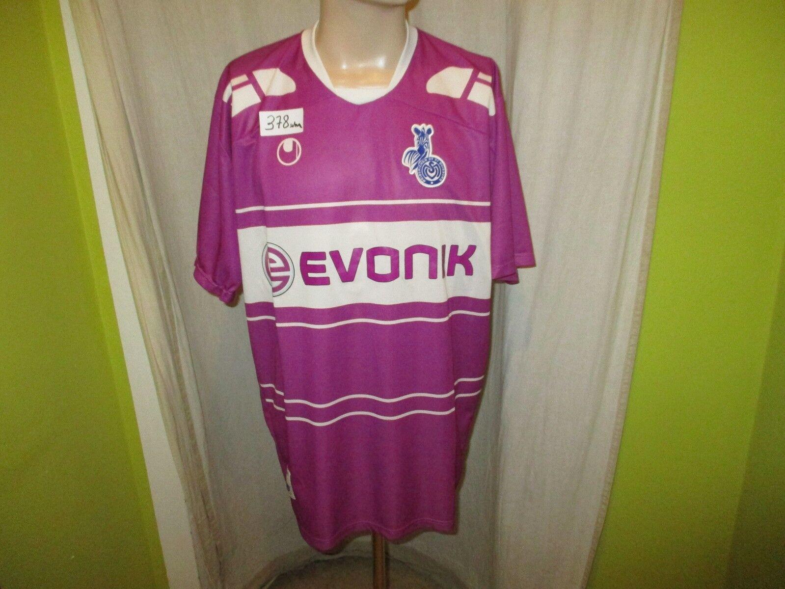 MSV Duisburg Original uhlsport Ausweich Trikot 2008/09