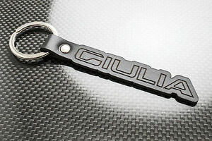 Automobilia Schlüsselanhänger Alfa Giulia Leder Schlüsselanhänger Schlüsselring Porteclés Veloce Quadrifoglio