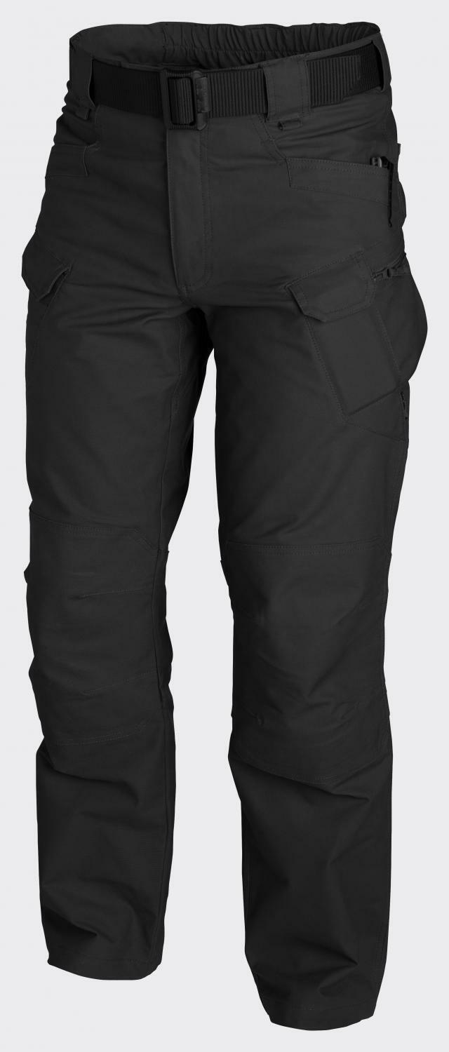 HELIKON TEX URBAN TACTICAL PANTS UTP RIPSTOP HOSE Schwarz ML ML Schwarz Medium Long 9fd158