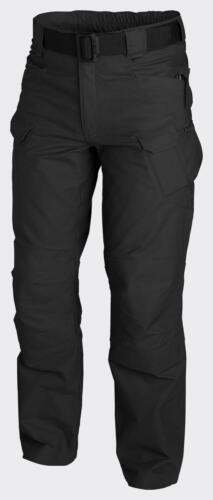 HELIKON TEX Urban Tactical Pants UTP Ripstop LOISIR PANTALONS NOIRS PETIT long