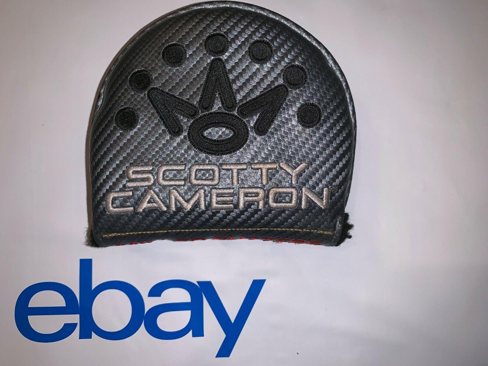 Excelente Titleist Scotty Cameron 2017 futura 5W 5.5M 7M Mid-rojoondo Headcover RH