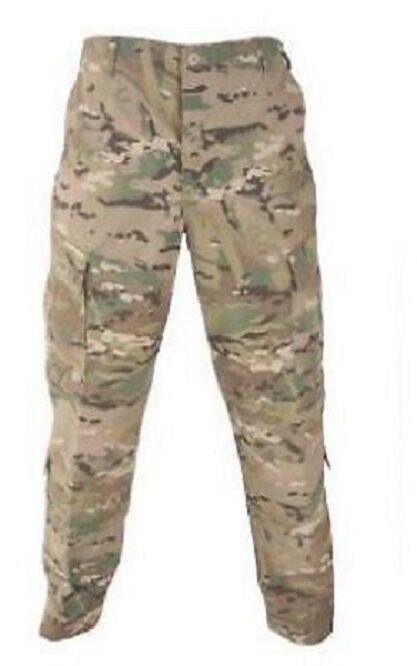 US Army OCP Military pants Multicam ACU Uniform Tarnhose Hose Medium X Short